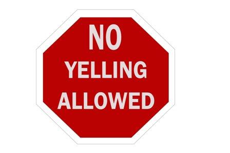 no-yelling